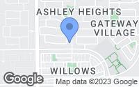 Map of Gilbert, AZ