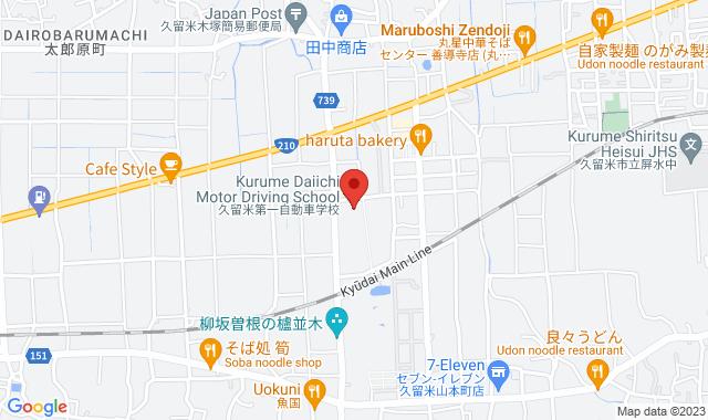 自動車教習所マップ