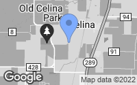 Map of Celina, TX