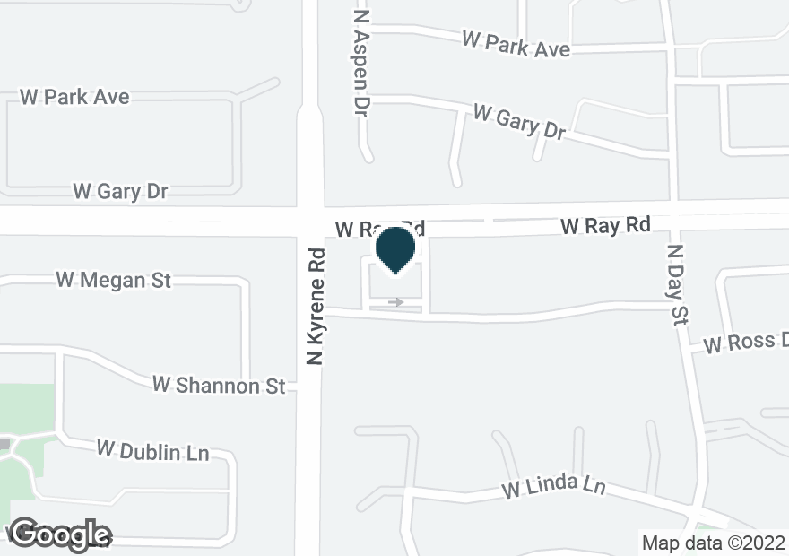 Google Map of5975 W RAY RD