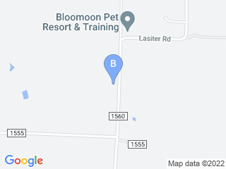 Map of Bloomoon Pet Resort Dog Boarding options in Chico | Boarding