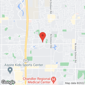 Map of Bailey Freed, PA at 2360 W Ray Roadsuite 2, Chandler, AZ 85224