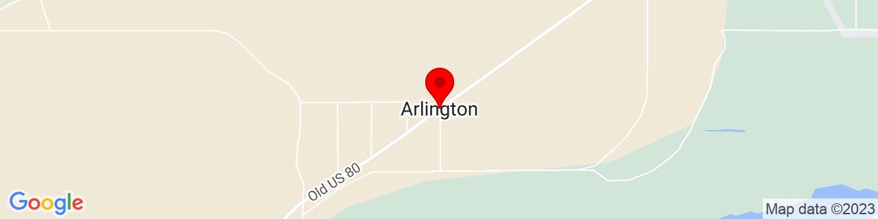 Google Map of 33.3257096, -112.763764