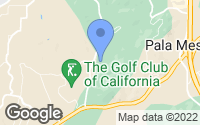Map of Fallbrook, CA