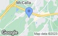 Map of McCalla, AL