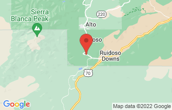 Map of Ruidoso