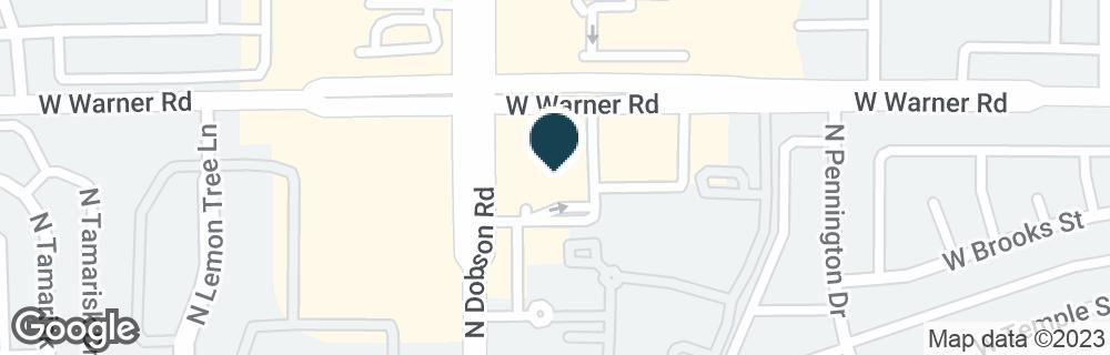 Google Map of1919 N DOBSON RD