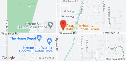 Directions to Picazzo's Healthy Italian Kitchen Tempe