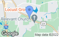 Map of Locust Grove, GA