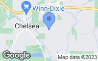 Map of Chelsea, AL
