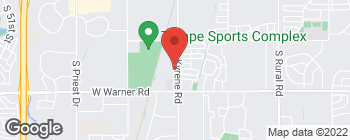 Map of 8400 S Kyrene Rd in Tempe