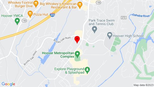 Google Map of 5487 Stadium Trace Parkway, Birmingham, AL 35244