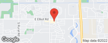 Map of 1835 E Elliot Rd in Tempe