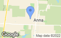 Map of Anna, TX
