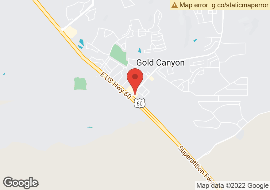 Google Map of 6951 S KINGS RANCH RD