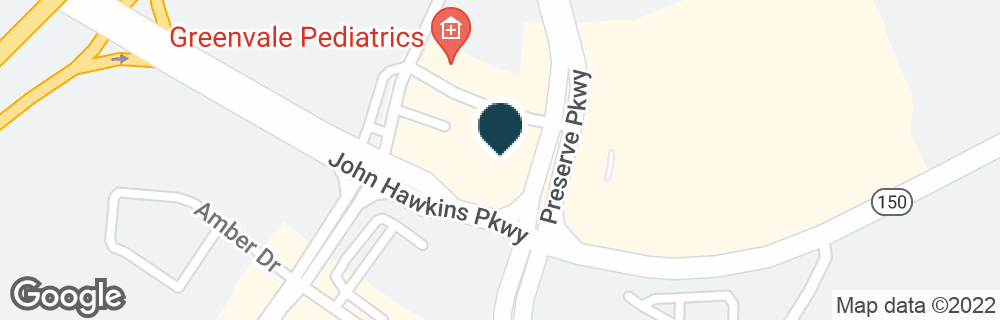 Google Map of2505 JOHN HAWKINS PKWY