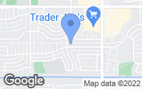 Map of Tempe, AZ