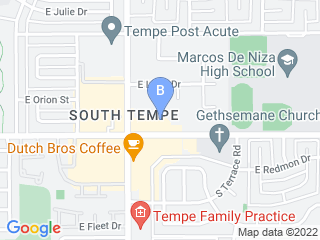 Map of Doggie District Dog Boarding options in Tempe | Boarding