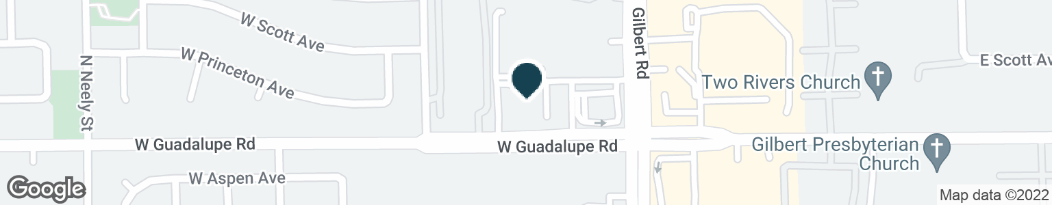 Google Map of76 W GUADALUPE RD