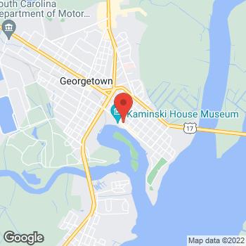 Map of Citi Trends at 930 Front Street, Georgetown, SC 29440
