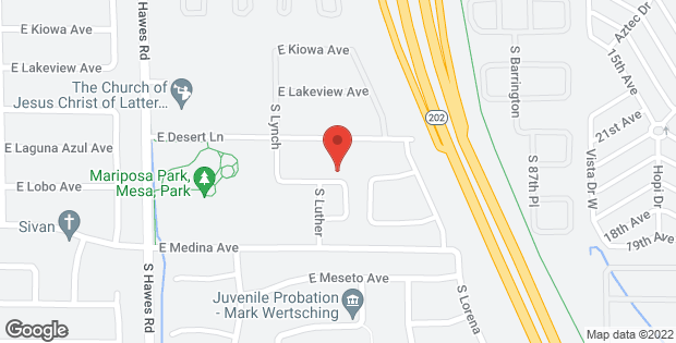 8548 E LAGUNA AZUL Avenue Mesa AZ 85209