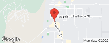Map of 305 W Aviation Rd in Fallbrook