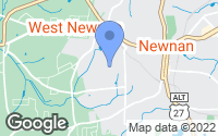 Map of Newnan, GA