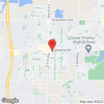 Map of Puja Goswami, MD at 5045 W. Baseline Road, Laveen, AZ 85339