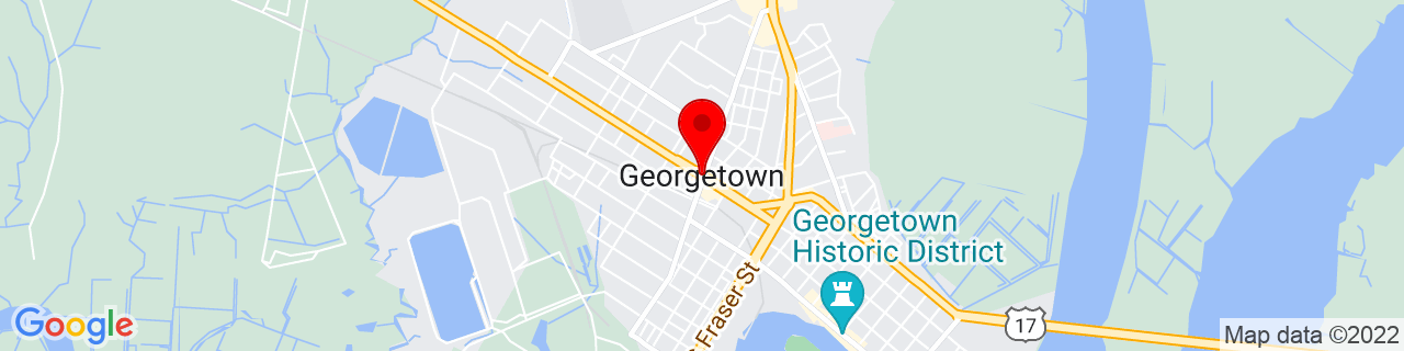 Google Map of 33.376834, -79.2944964