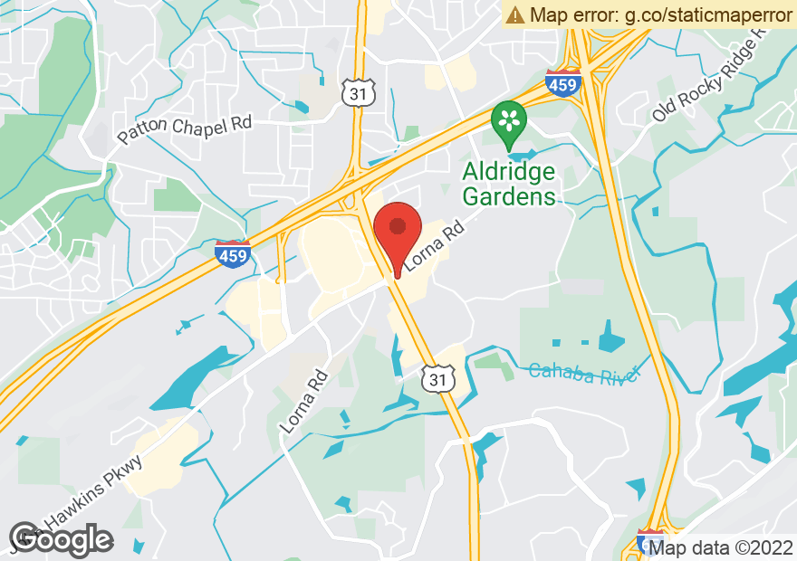 Google Map of 1801 MONTGOMERY HWY