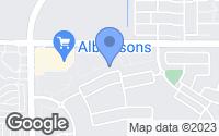 Map of Mesa, AZ