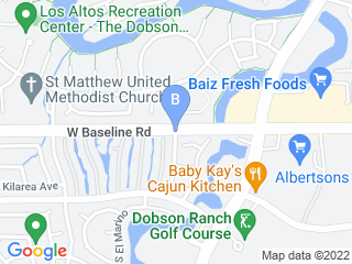 Map of Gilbert Dogs Dog Boarding options in Gilbert | Boarding