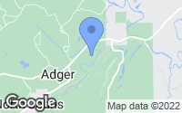 Map of Adger, AL