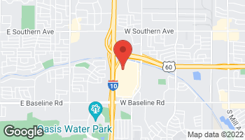 Map of 5008 S Arizona Mills Circle in Tempe