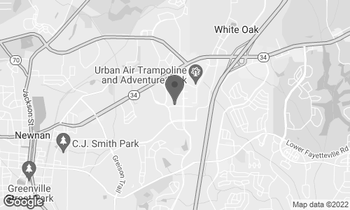 Map of 410 Newnan Crossing Byp in Newnan