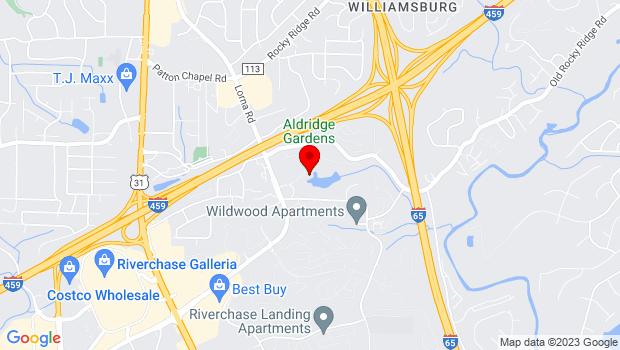 Google Map of 3530 Lorna Road, Hoover, AL 35216