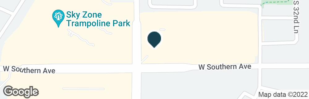 Google Map of3434 W SOUTHERN AVE