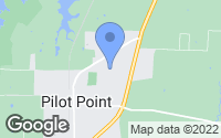 Map of Pilot Point, TX