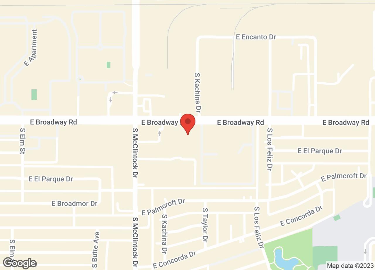 Google Map of VCA Tri City Animal Hospital and Acacia Cat Hospital