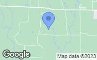 Map of Van Alstyne, TX