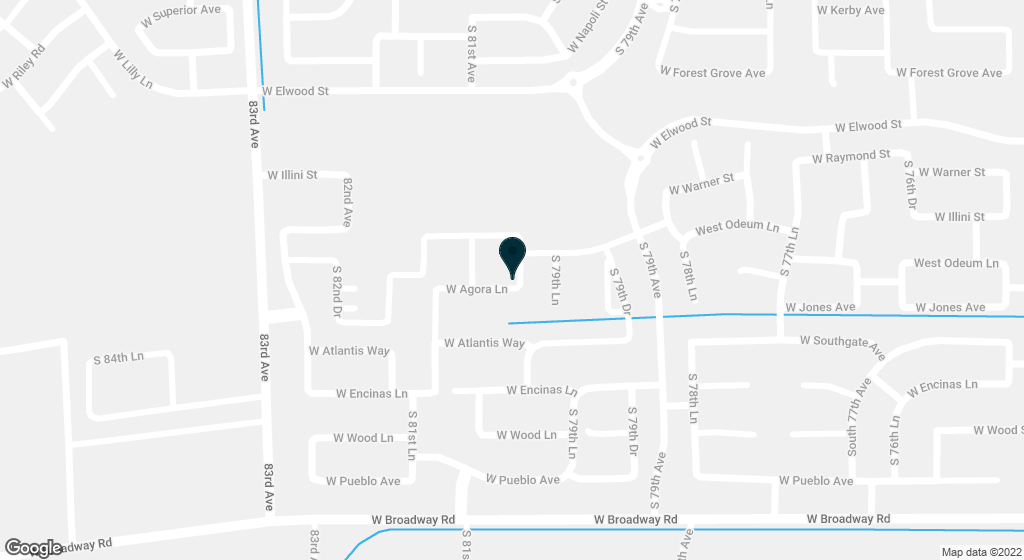8014 W AGORA Lane Phoenix AZ 85043