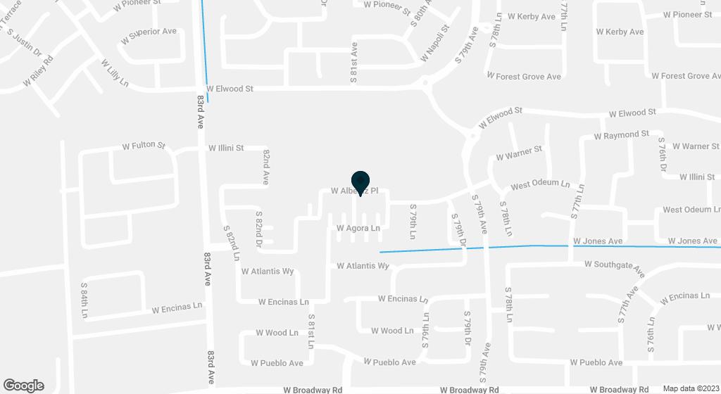 8037 W ALBENIZ Place Phoenix AZ 85043