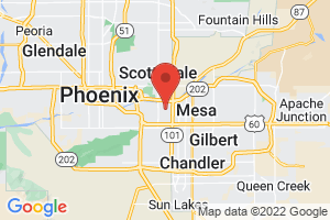 Map of Tempe