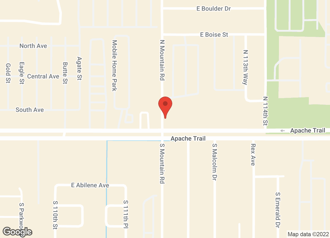 Google Map of VCA Apache Junction Animal Hospital