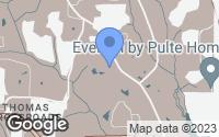 Map of Sharpsburg, GA