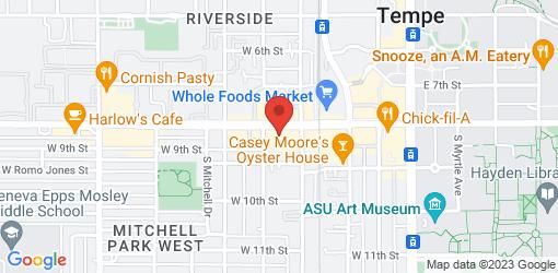 Directions to Loving Hut - University Dr - Tempe, AZ
