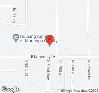 8246 E UNIVERSITY Drive