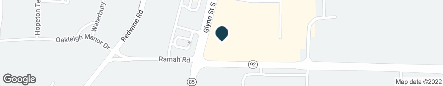 Google Map of880 HIGHWAY 85 S