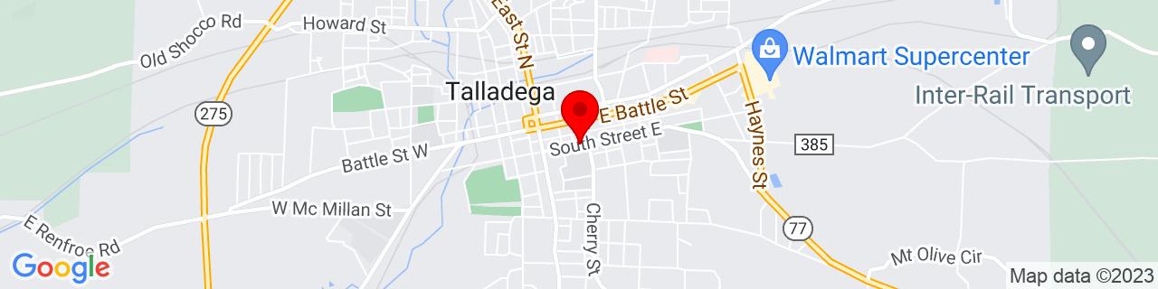 Google Map of 33.4333311, -86.0982464