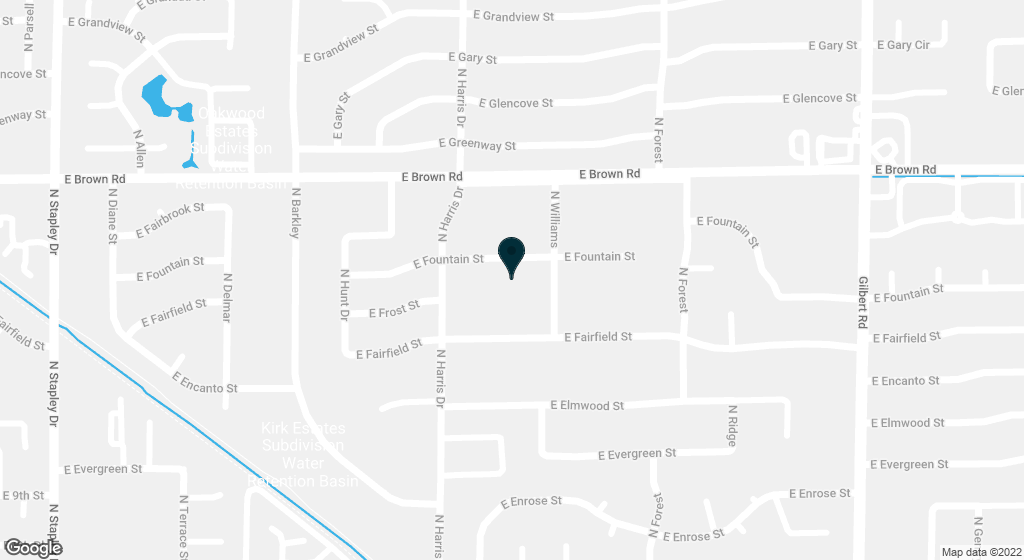 1631 E FOUNTAIN Street Mesa AZ 85203